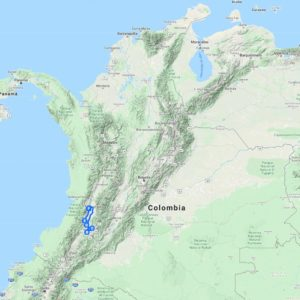 short motorcycle route colombia