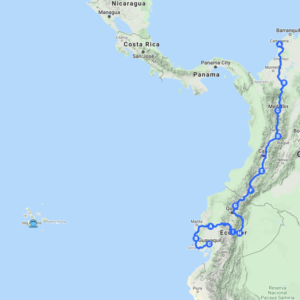 galapagos motorcycle tour